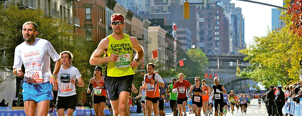 Run in New York, Chicago, Berlin, Tokyo and Boston